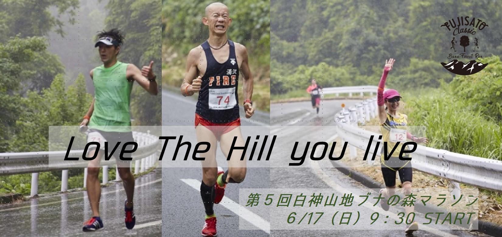 第5回 白神山地ブナの森マラソン参加者募集!!